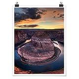 Bilderwelten Poster Wanddeko Colorado River Glen Canyon