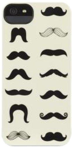 Griffin Custodia Mustachio per iPhone 5, Nero