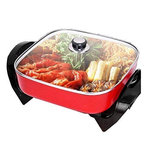 BBQ Hot Pot, 1500 Watt Multi-functie Circulatie Verwarming Hot Pot, Verminder Roet bakplaat Elektrische barbecue hsvbkwm