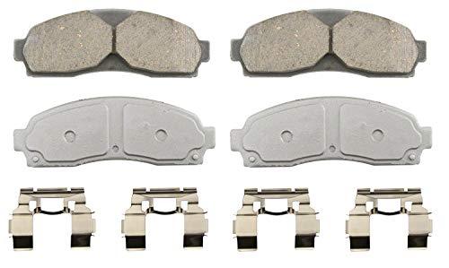 Wagner ThermoQuiet QC833 Ceramic Disc Brake Pad Set
