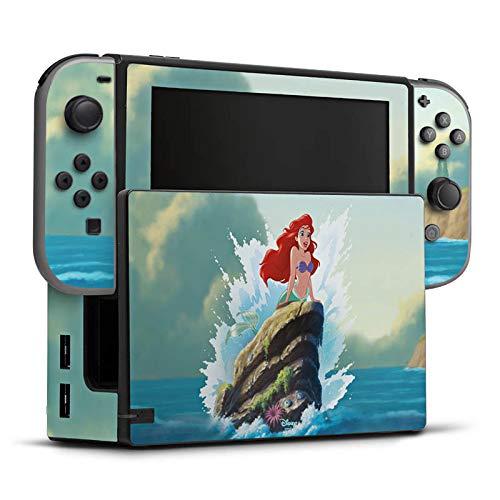 DeinDesign Skin Aufkleber Sticker Folie für Nintendo Switch Disney Arielle Die Meerjungfrau Geschenke Merchandise