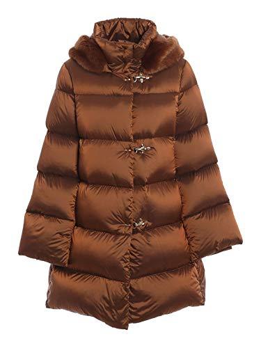 Fay Luxury Fashion Donna NAW33414050SJFG833 Marrone Poliammide Piumino...