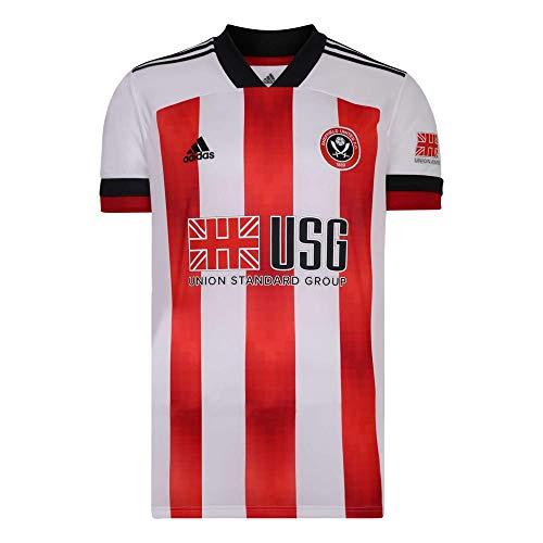 adidas 2020-2021 Sheffield United Home Football Shirt
