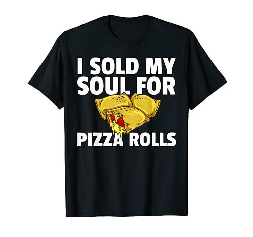 Pizza Rolls Regalo Divertido Queso Snack Camiseta