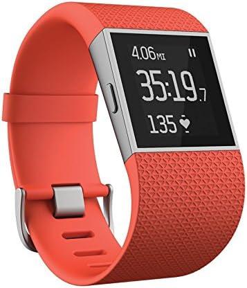 wholesale Fitbit wholesale sale Surge, Tangerine, Large outlet online sale