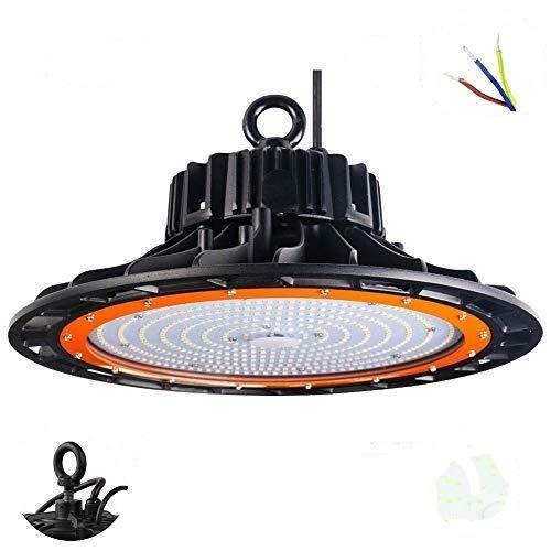Canlanda 200W 27000LM IP65 Blanco LED UFO Lámpara Industrial LED De Alta Bahía Luz Interior Exterior Iluminación Del Día