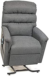 UltraComfort UC546-L Large (375#) Montage Zero Gravity Recliner Lift Chair w/Eclipse Made in America (Cobblestone)