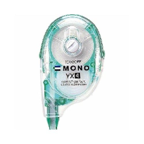 トンボ鉛筆 MONO YX 修正テープ 本体 幅4.2mm つめ替えタイプ CT-YX4 2個セット