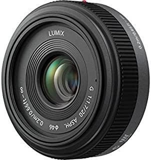 Panasonic Lumix G H H020 20 mm f/1.7 asphärisches Pancake Objektiv für Micro Four Thirds austauschbare Digitale Spiegelreflexkameras