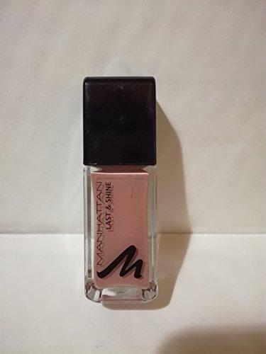 Manhattan Last & Shine Nagellack, Nr.460, Latte2Go 1er Pack(1 x 10 milliliters)