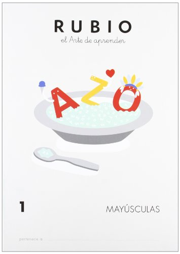 Cuadernos Rubio: Mayusculas 1 (Mayúsculas RUBIO)