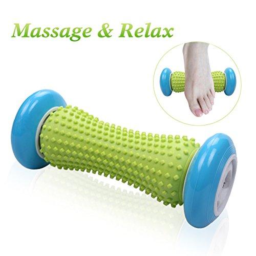 Rodillo de masaje en los pies para la fascitis plantar Muscle Pain Relief Massage Tool Set para el talón y el pie Arch Pain Relief Punto gatillo de liberación Acupressure Reflexology Body Deep Massage