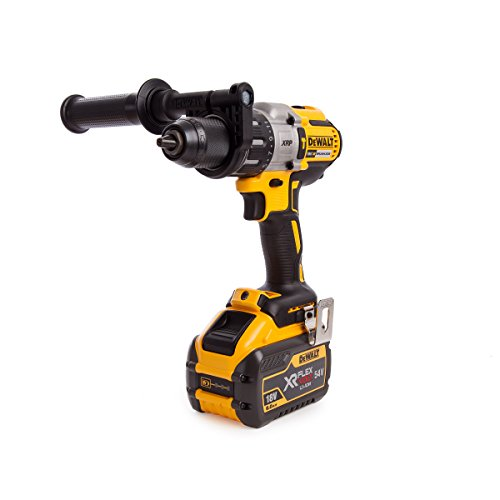 Dewalt DCD996X1-GB Cordless XR 3 Speed Brushless Combi Drill, 830 W, 18 V, Yellow/Black, 1 x 18/54 Volt 9.0/3.0Ah FlexVolt Li-Ion Battery