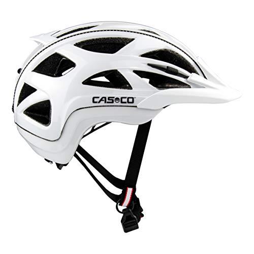 Casco Activ 2 Fahrradhelm Erwachsene Radhelm weiß glanz 52-56 cm ( S )