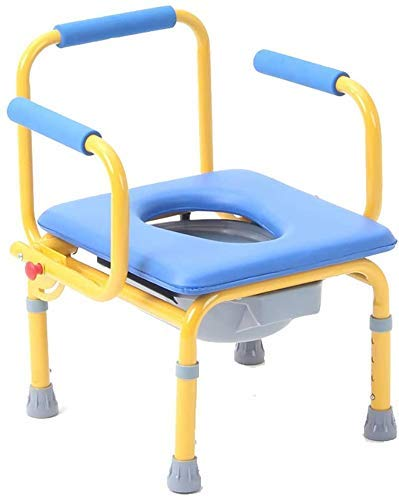 Klappbarer Kinder-Kommodenstuhl höhenverstellbarer Kinder-Toiletten-Töpfchenhocker für ältere Kinder tragend £ 165