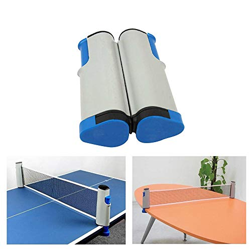 Affordable QIEZI ping Pong net able Tennis Net Portable Retractable Ping Pong Post Net Rack for Any ...