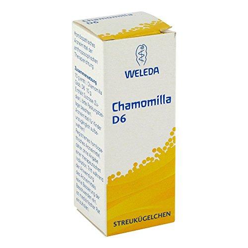 Chamomilla D6 Globuli Weleda, 10 g