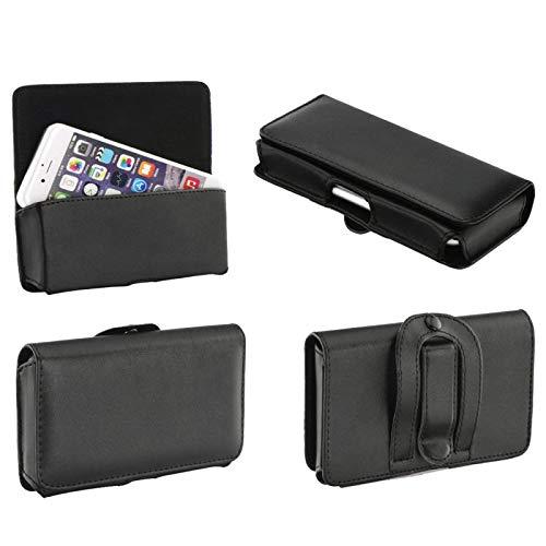 Supercase24 Quertasche für Medion Life P5005 Hülle Handy Tasche Schutz Hülle Etui Cover Quer Gürtel Clip
