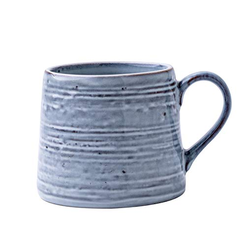 Yowinlo Tazas De Desayuno Vasos para Té Y Café Nordic Ins Viento Taza Hombres Y Mujeres Taza Taza De Cerámica Antigua Taza De Desayuno Japonés Taza De Café Nueva