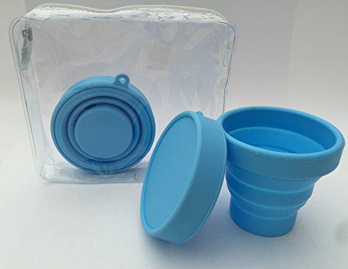 Boite de Rangement Stérilisateur pliable pour Coupelle Menstruelle toutes Marques