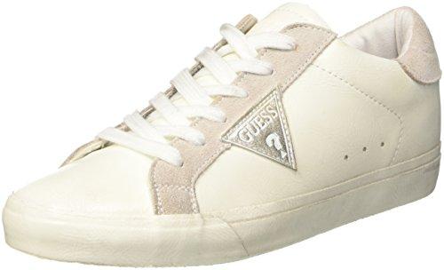 Guess Vega, Scarpe da Tennis Donna, Bianco, 39 EU