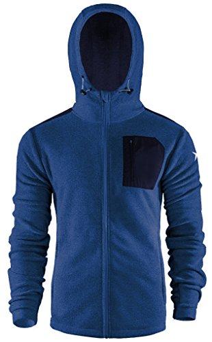 Unbekannt OUTHORN Model Fleecejacke MODERN Fleecepullover Fleece Sweatshirt Herren Jacke Kapuzepullover Pullover Pulli Sweatjacke Fleecebluse Sweater PLM602 SS17 (Dunkelblau, XXL)