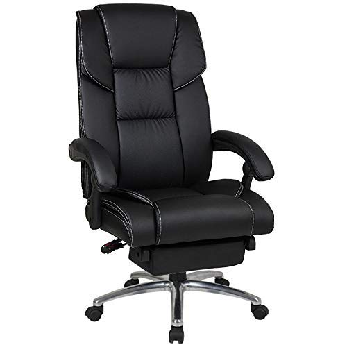 KAYBELE Boss Massage Office Chair Nap Rest Massage Household Computer Chair 360 Degrees Swivel Chair,Black,004 (Color : Black, Size : 3)
