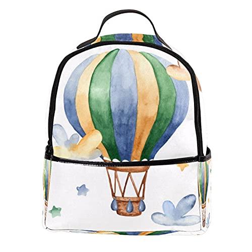ATOMO Casual Mini Zaino Cartoon Aria Calda Nuvole In Pelle PU Viaggio Shopping Borse Daypacks