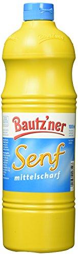 Bautz'ner Senf Mittelscharf, 12er Pack (12 x 1 l)