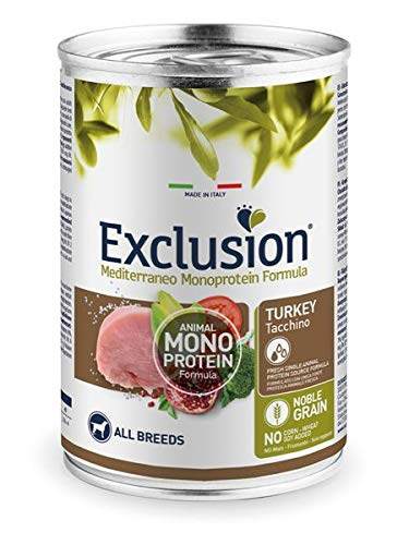 Exclusion Mediterraneo Noble Grain Adult Pute Nassfutter 400 g