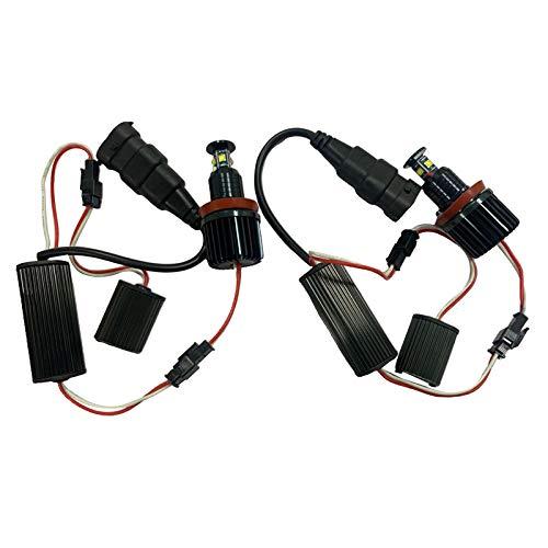 H HILABEE Bombillas LED de Alta Potencia sin Errores de 40W para E81, E87 E82, E91 E92, E63 E70 Blanco