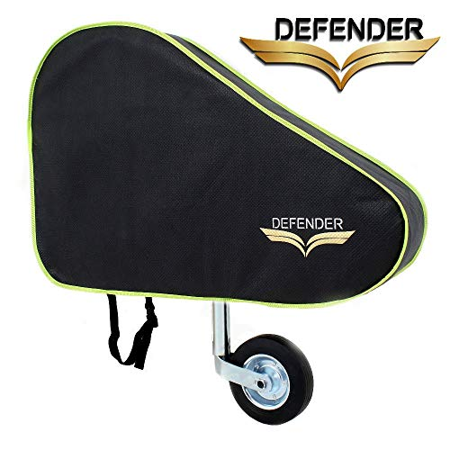 Defender Dark Grey Caravan Tow Hitch Cover Universal Towing Accessories Protector Waterproof Trailer Covers with Straps