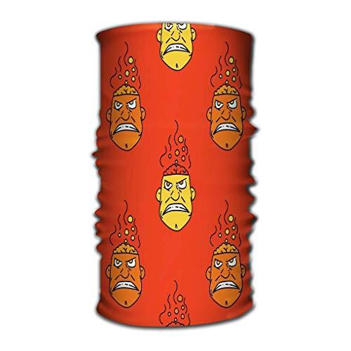 Quintion Robeson Sport Schal Stirnbänder Bandana Schweißband Kopfbedeckungen Boiling Brain Original Design Print Digitale Medien Boiling Brain Geometric