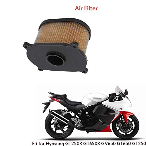 Gadget motocicleta, para motocicleta, filtro de motocicleta, filtro para motocicleta, filtro de aceite moto, filtro de filtro filtro de aire motocicleta para HYOSUNG GT250R GT650R GV650 GT650 GT250