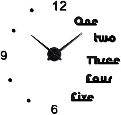 Treading - wall clock modern design reloj de pared quartz watch large decorative clocks europe living