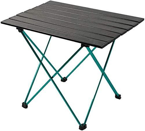 XINTONGLO Outdoor Picknick-Tisch, Leichtklapp Camping Tisch mit wasserdichter Tragetasche und rutsch Fuß Cover, für Beach Garden Grill und Wandern