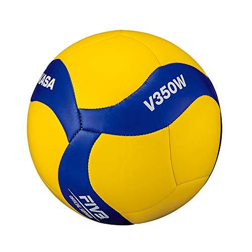 Mikasa Volleyball V350W, blau, 5