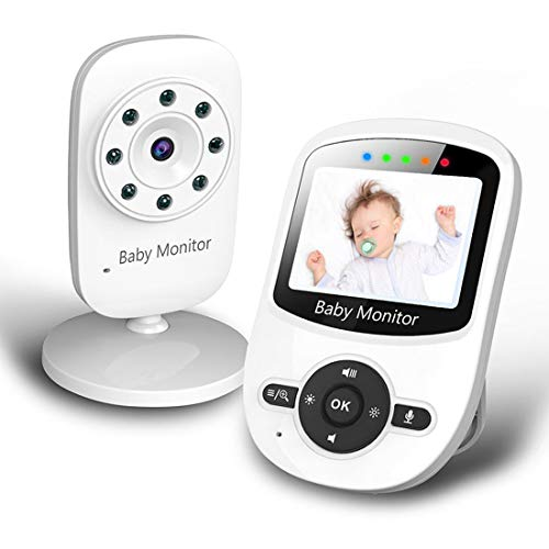 Best Deals! Baby Monitor, Video Baby Monitor with Digital Color Camera, Wireless View Video, Two-Way...