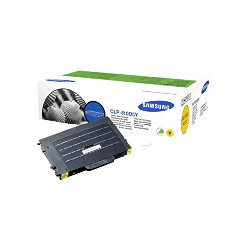 Samsung CLP-510 NG (CLP 510 D5Y/ELS) - original - Toner yellow - 5.000 Pages