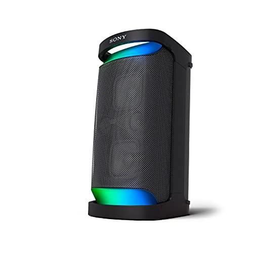 Sony SRS-XP500 X-Series Wireless Portable-Bluetooth-Karaoke Party-Speaker IPX4 Splash-Resistant with 20 Hour-Battery