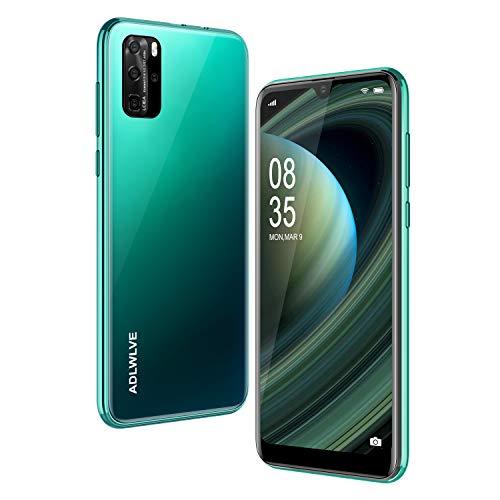 Smartphone Offerta Del Giorno 4G, 3GO RAM+32GB ROM Android 9.0 Cellulari Offerte,6.3 Waterdrop Pollici Telefoni Cellulari Dual SIM, 8MP 4600mAh Cellulari e Smartphone (2 x SIM +1x SD) (verde)