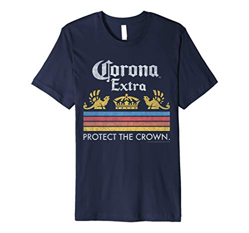 Officially Licensed Corona Short Sleeve Adult T-Shirt