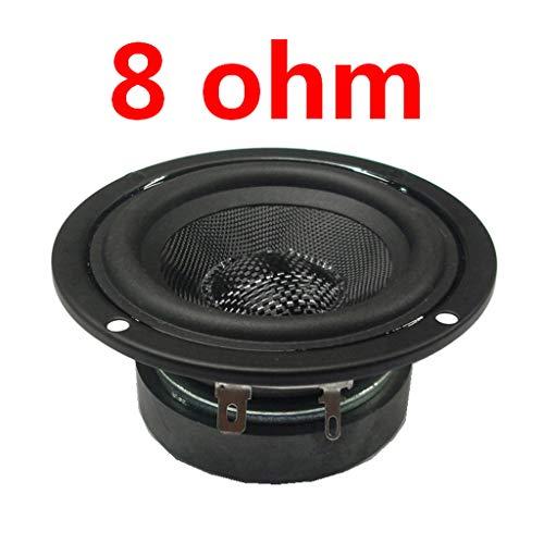 JOYKK Subwoofer ronde subwoofer luidspreker Woofer luidspreker voor bass audio