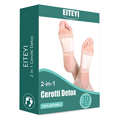 ITCMEE Detox Foot Pads Ginger Detoxifying Foot Pads Detox Foot Patches Foot Care Improve Sleep Quality Enhance Blood Circulation Weight Loss 30 Pieces