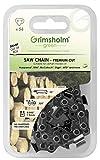 Grimsholm Green 56-72 DL - Cadena para motosierra (0,325', 0,050'/1,3 mm)