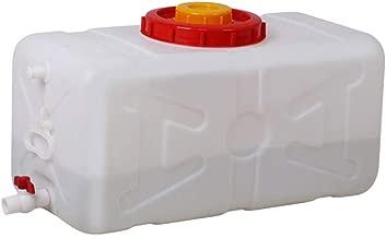 Dore Home Tanque De Almacenamiento De Agua En Los Hogares Grande del Tanque De Agua Cuadrados Plásticos Horizontal con Tapa Y Válvula De Agua Torre De Almacenamiento (Size : 30L)
