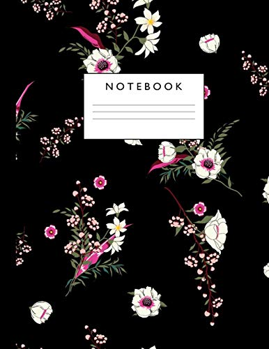 Notebook: Cute Lined Journal Ruled Composition Note Book to Draw and Write In for Girls and Boys - Home School Supplies for K-12 Grade Highschool and College : Cover Design 094