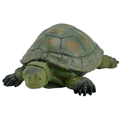 Schildkröte Gartenfigur Deko-Figur Garten Teich Landschildkröte Gartendeko