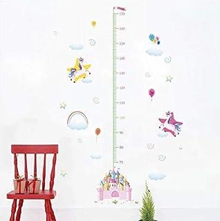Medidor altura ni/ños pegatina pared puerta caravana vinilo decorativo Bomberos al rescate cuartos bebes ni/ños juegos guarderias pediatras de CHPYHOME