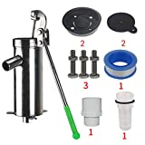 Secouez la pompe Pompe à eau manuelle de puits Puits d'eau de puits Pompe à eau principale Pompe à eau Pompe à eau en acier inoxydable Pompe à arbre en acier de longue épaisseur facile à envoyer